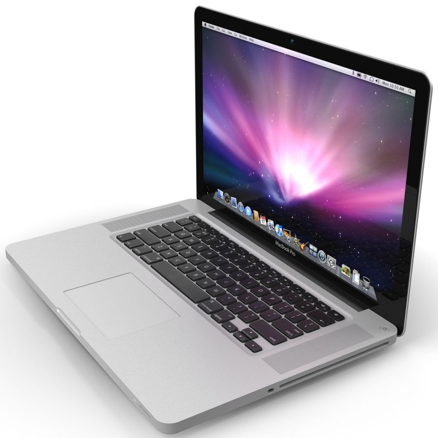 Apple MacBookPro 15 royalty-free 3d model - Preview no. 12