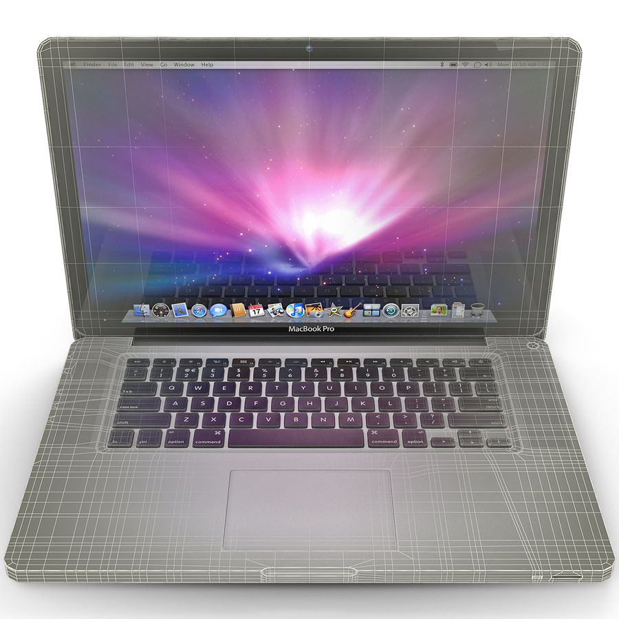 Apple MacBookPro 15 royalty-free 3d model - Preview no. 1