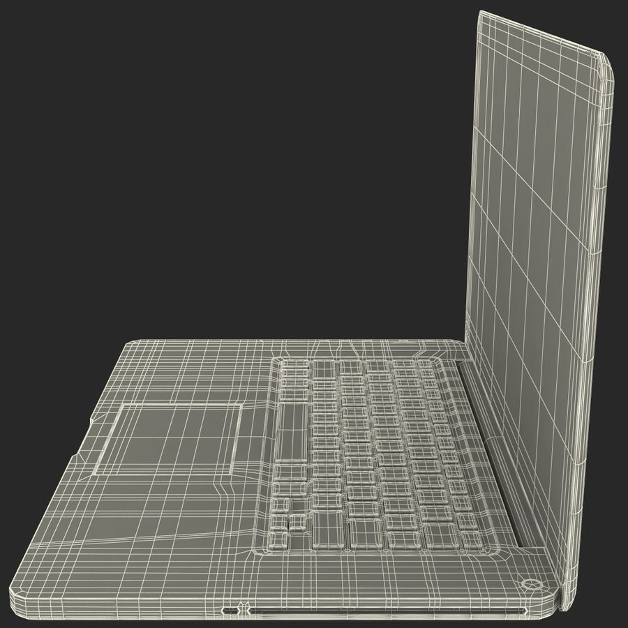 Apple MacBookPro 15 royalty-free 3d model - Preview no. 37