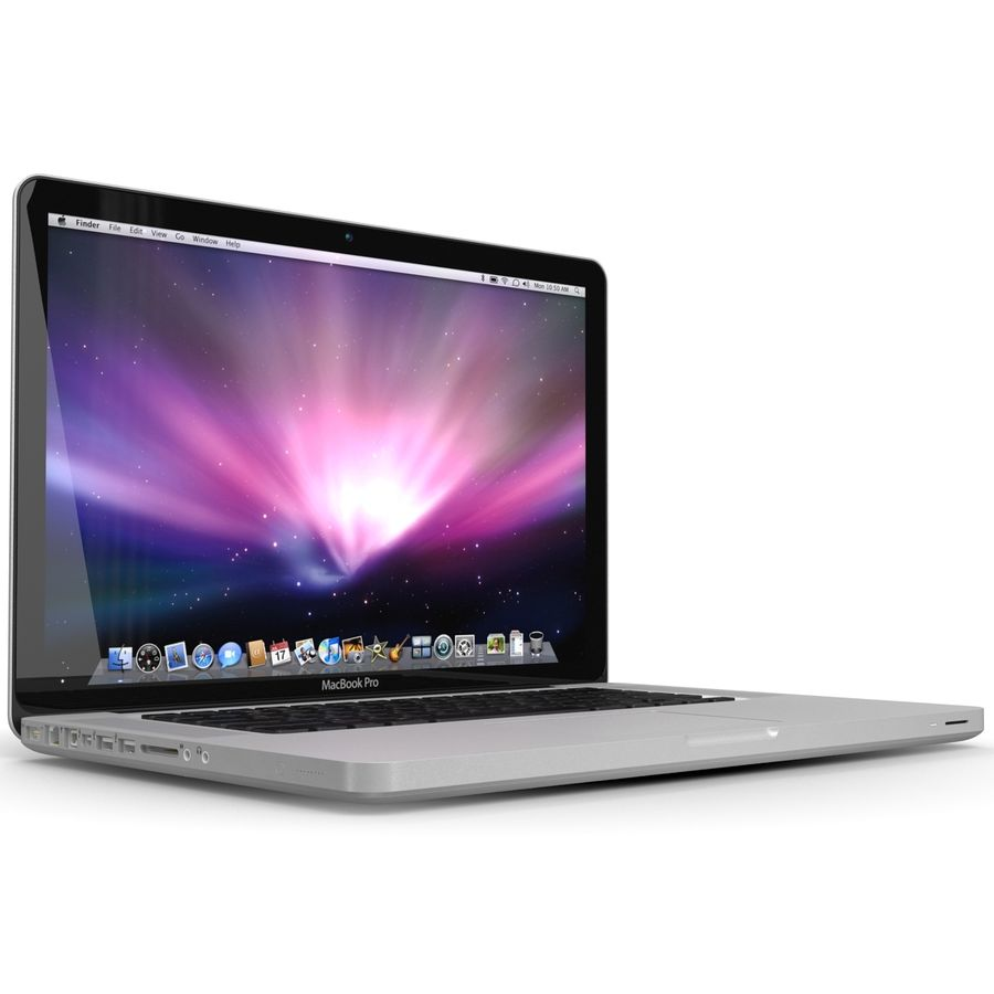 Apple MacBookPro 15 royalty-free 3d model - Preview no. 13