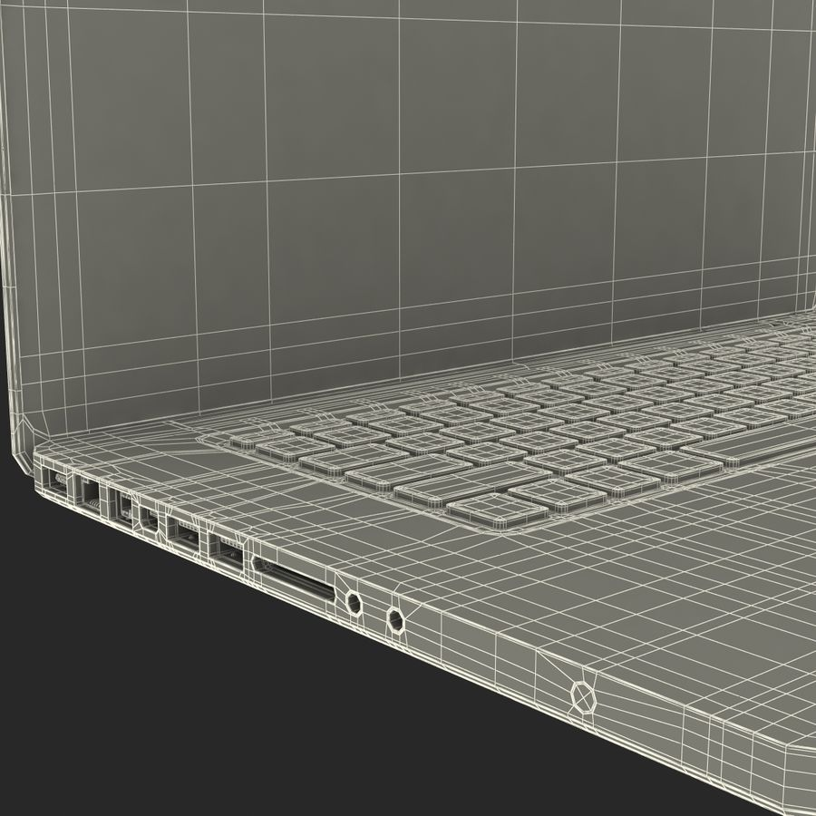 Apple MacBookPro 15 royalty-free 3d model - Preview no. 45