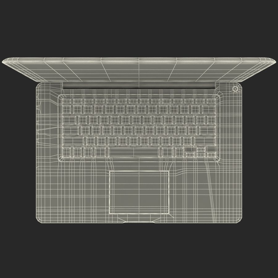 Apple MacBookPro 15 royalty-free 3d model - Preview no. 38