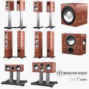 Monitor Audio Gold-serie 3d model