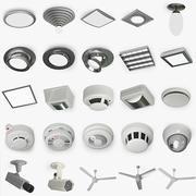 50 elementos de techo modelo 3d