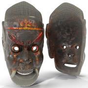 Asian Tribal Mask 3d model