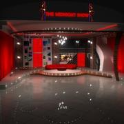 Studio de télévision 3d model