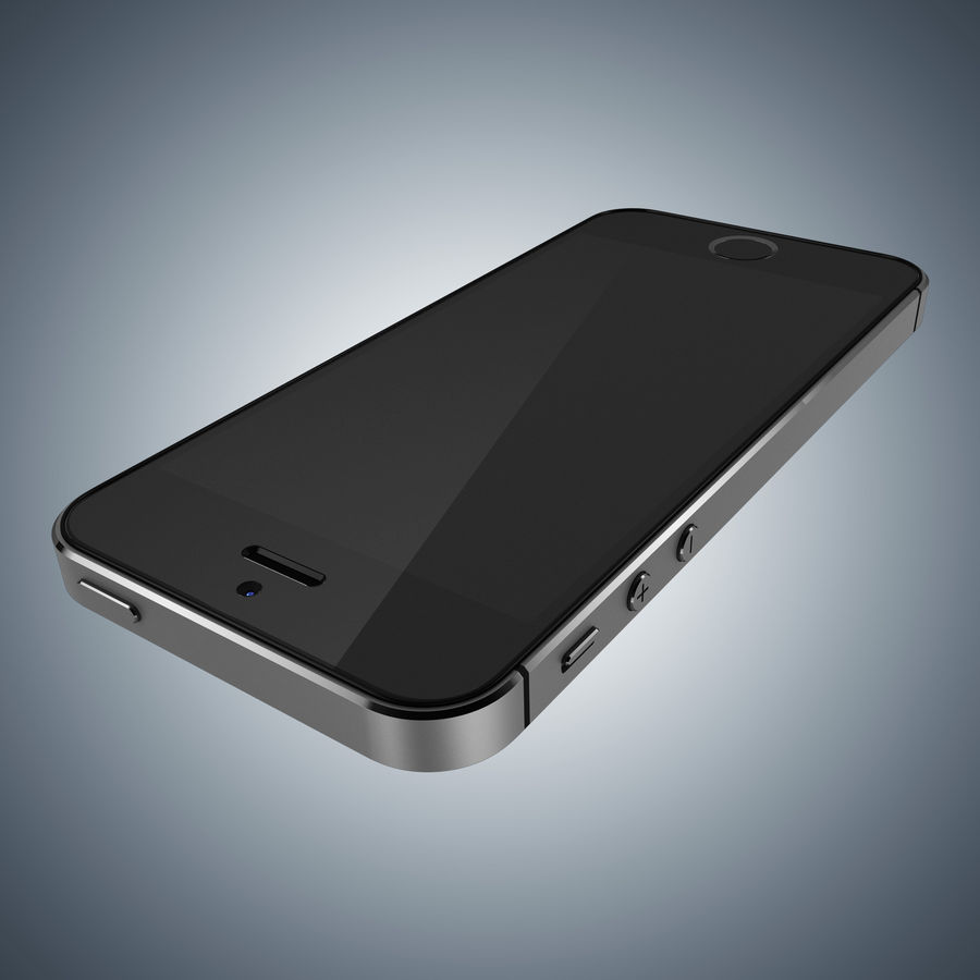 Apple iPhone 5s royalty-free 3d model - Preview no. 17