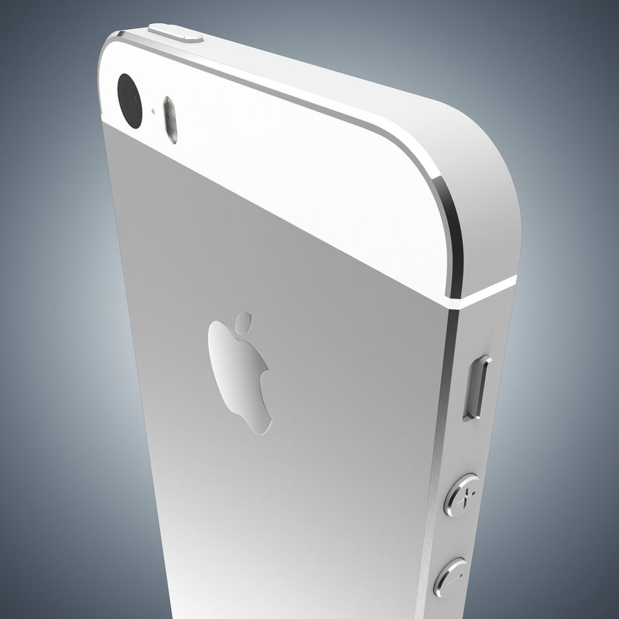 Apple iPhone 5s royalty-free 3d model - Preview no. 20
