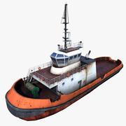 Bogserbåt 3d model