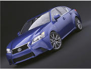 Lexus GS350 F Sport 2013 3d model