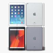 Apple iPad Air Gris sidéral et argent 3d model