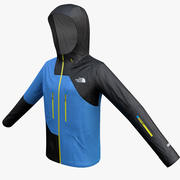 Snowboard Jacket 3d model