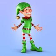 Noel Elf 3d model