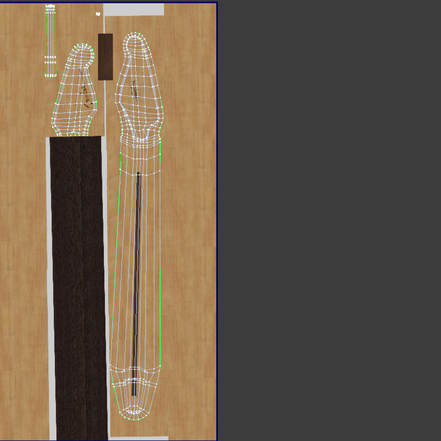 Fender Stratocaster Guitar royalty-free 3d model - Preview no. 10