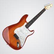 펜더 스트라토 캐스터 기타 3d model