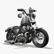 Harley Davidson Sportster 48 3d model