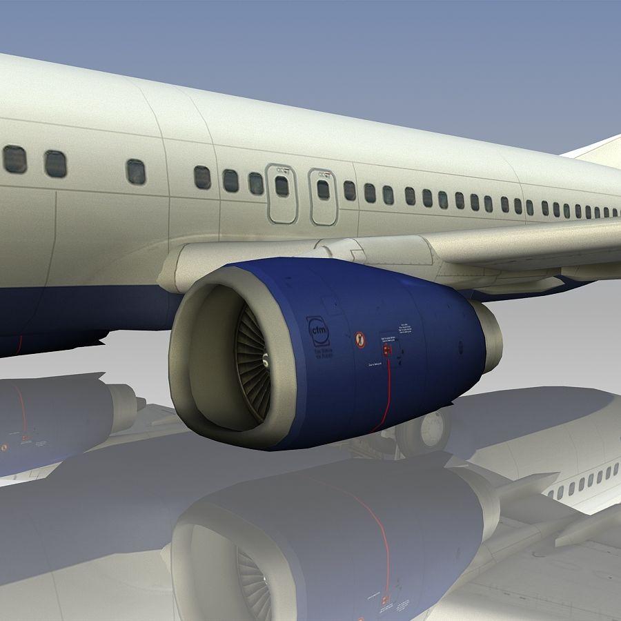 영국 항공 상업용 항공기 royalty-free 3d model - Preview no. 17