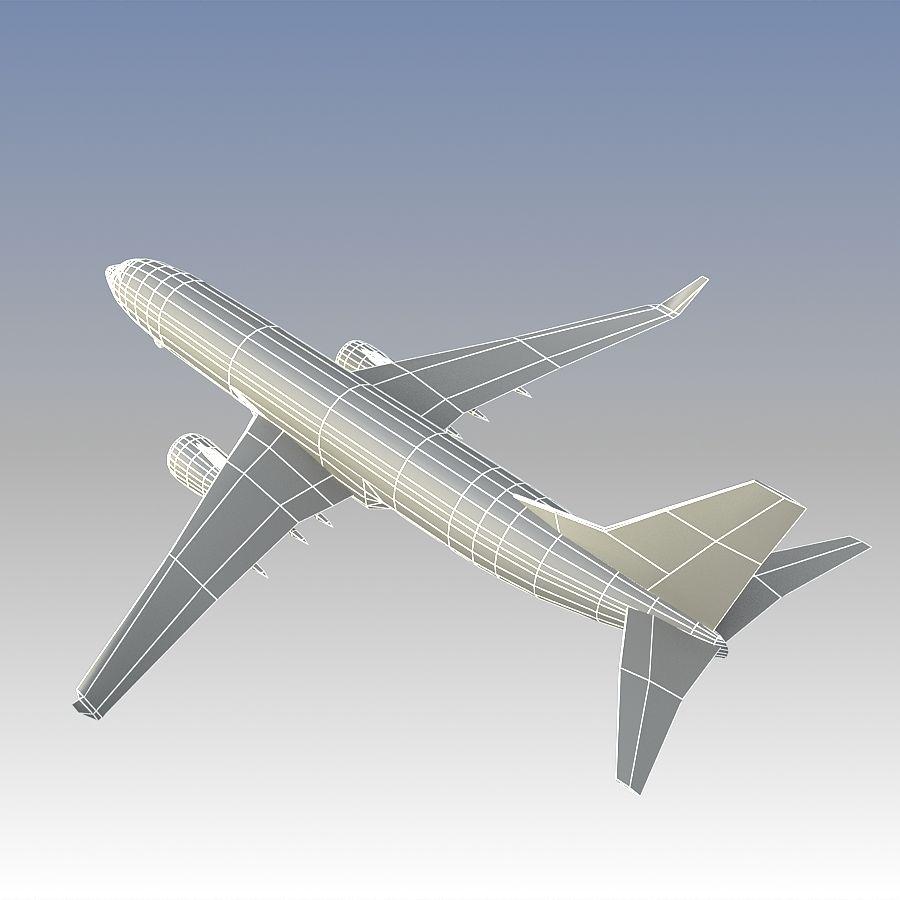 영국 항공 상업용 항공기 royalty-free 3d model - Preview no. 25