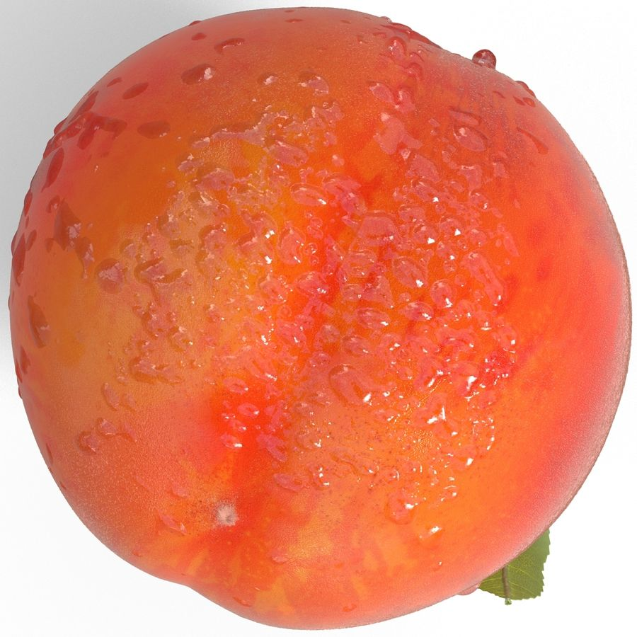 Peach Fuzz royalty-free 3d model - Preview no. 8