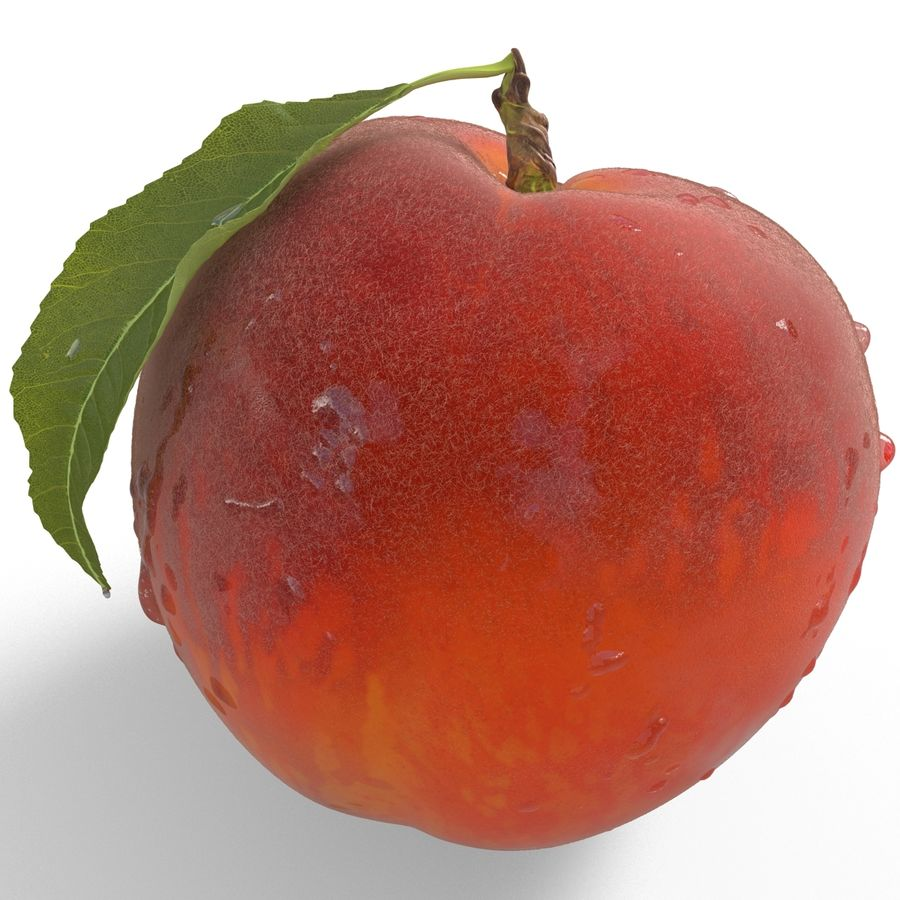 Peach Fuzz royalty-free 3d model - Preview no. 13