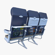 Southwest Airplane Chairs 3d model