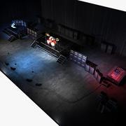 Band Live Set 3d model