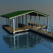 Boat Dock 3d model