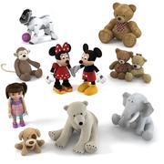 Kolekcja zabawek 3d model