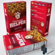 Hamburger Helper Beef Pasta 3d model