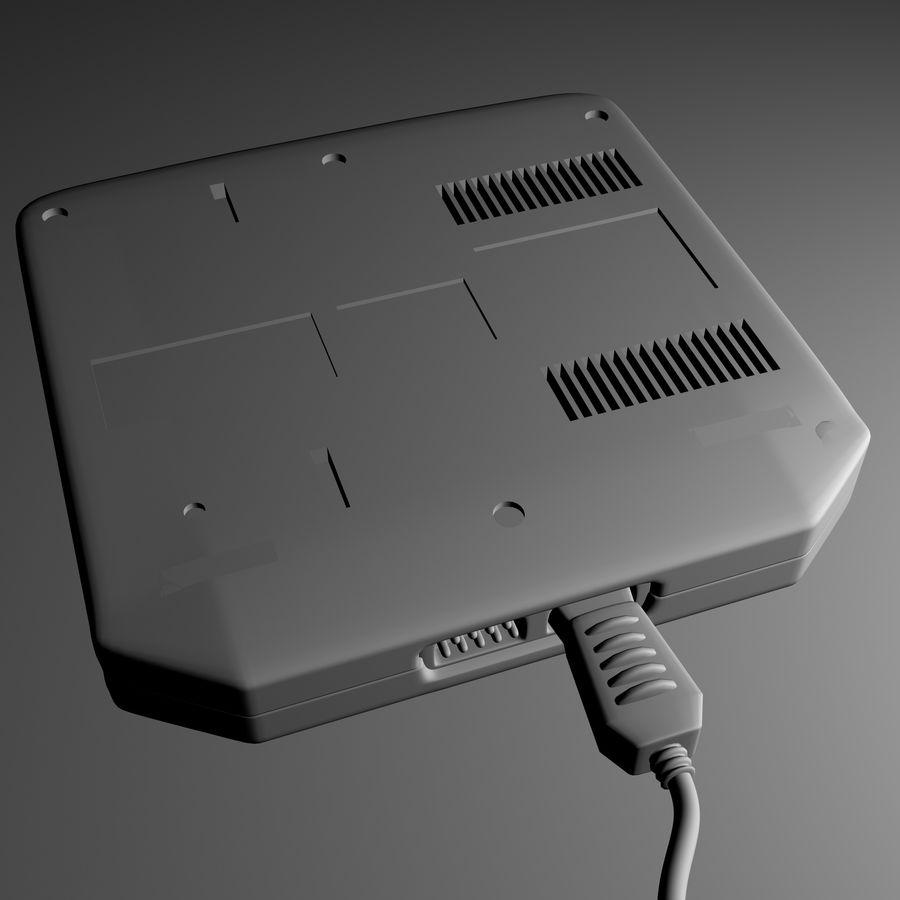 Sega Mega Drive royalty-free 3d model - Preview no. 9
