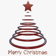 Елка с Рождеством 3d model