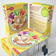 Betty Crocker Diversão Da Middles Cupcake Mix 3d model
