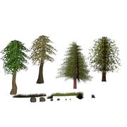 Lowpoly Nature Pack 3d model