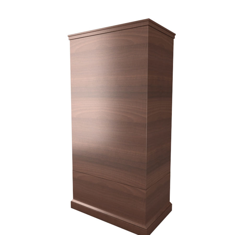 meuble 13 armoire royalty-free 3d model - Preview no. 4