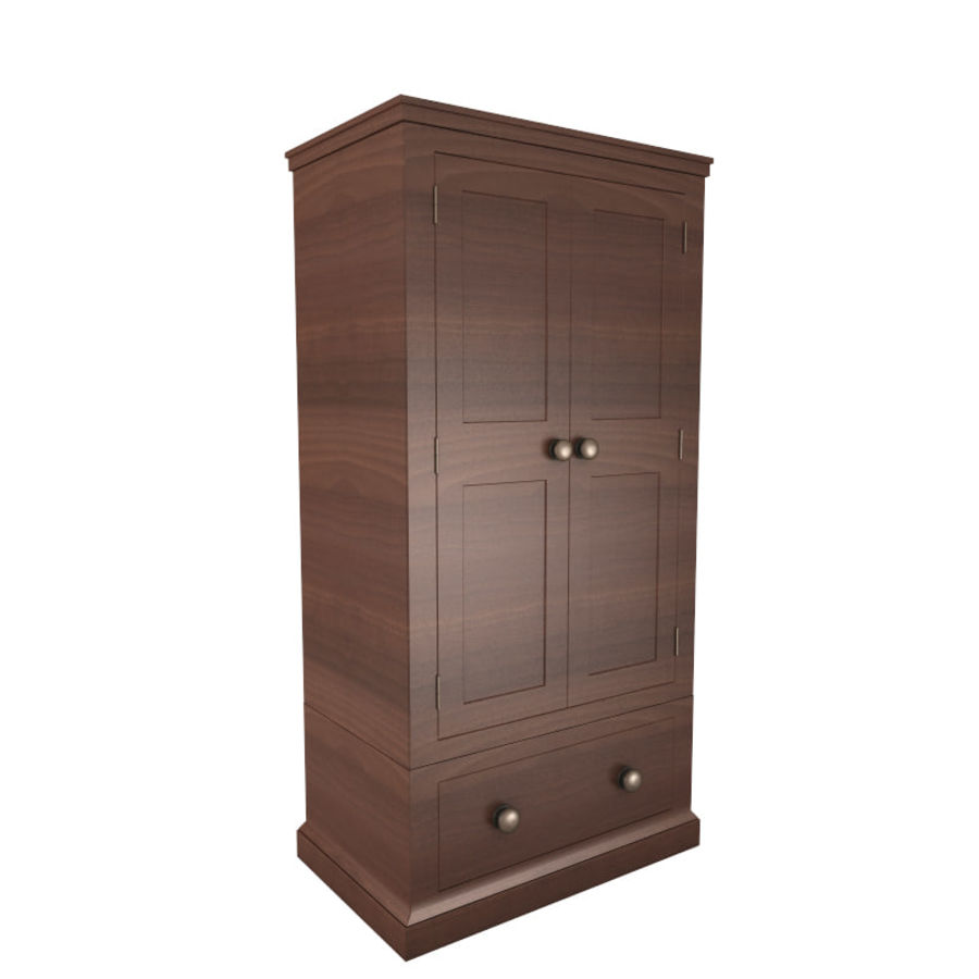 meuble 13 armoire royalty-free 3d model - Preview no. 3