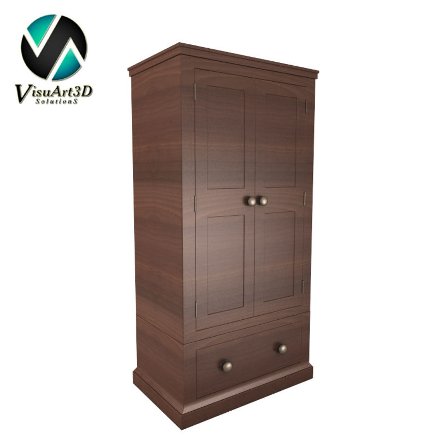 meuble 13 armoire royalty-free 3d model - Preview no. 1
