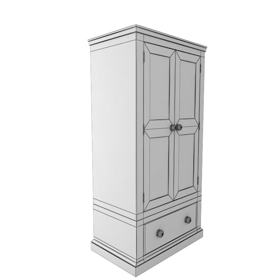 meuble 13 armoire royalty-free 3d model - Preview no. 6