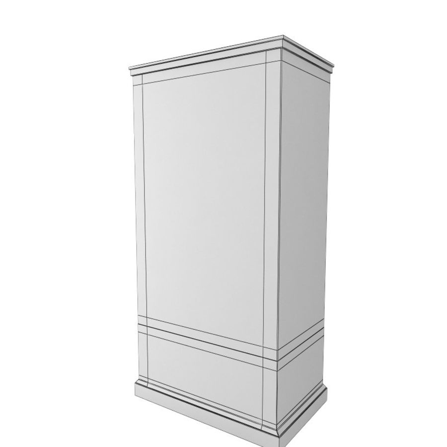 meuble 13 armoire royalty-free 3d model - Preview no. 5