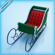 圣雪橇 3d model