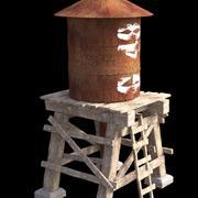 Vattentank 3d model