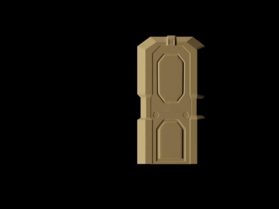 ambiente di fantascienza royalty-free 3d model - Preview no. 5