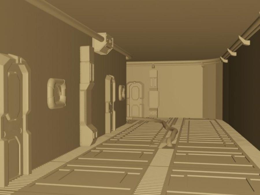 ambiente di fantascienza royalty-free 3d model - Preview no. 2