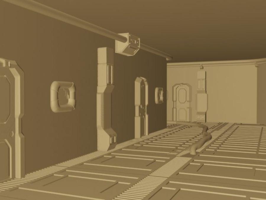 ambiente di fantascienza royalty-free 3d model - Preview no. 1