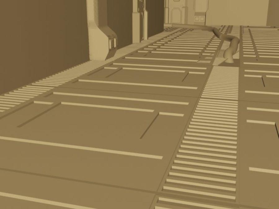 ambiente di fantascienza royalty-free 3d model - Preview no. 4