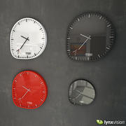 Two Timer Wall Clock 3d model