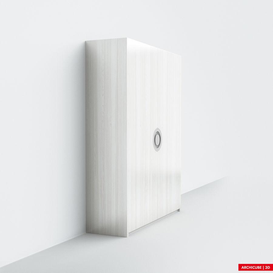 梳妆台 royalty-free 3d model - Preview no. 2