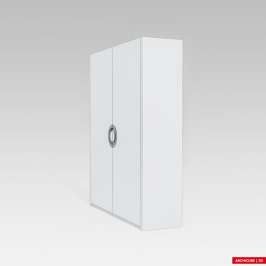 梳妆台 royalty-free 3d model - Preview no. 9