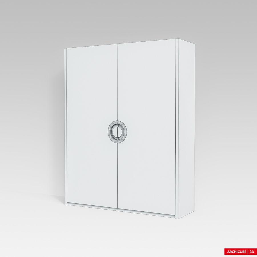 梳妆台 royalty-free 3d model - Preview no. 8
