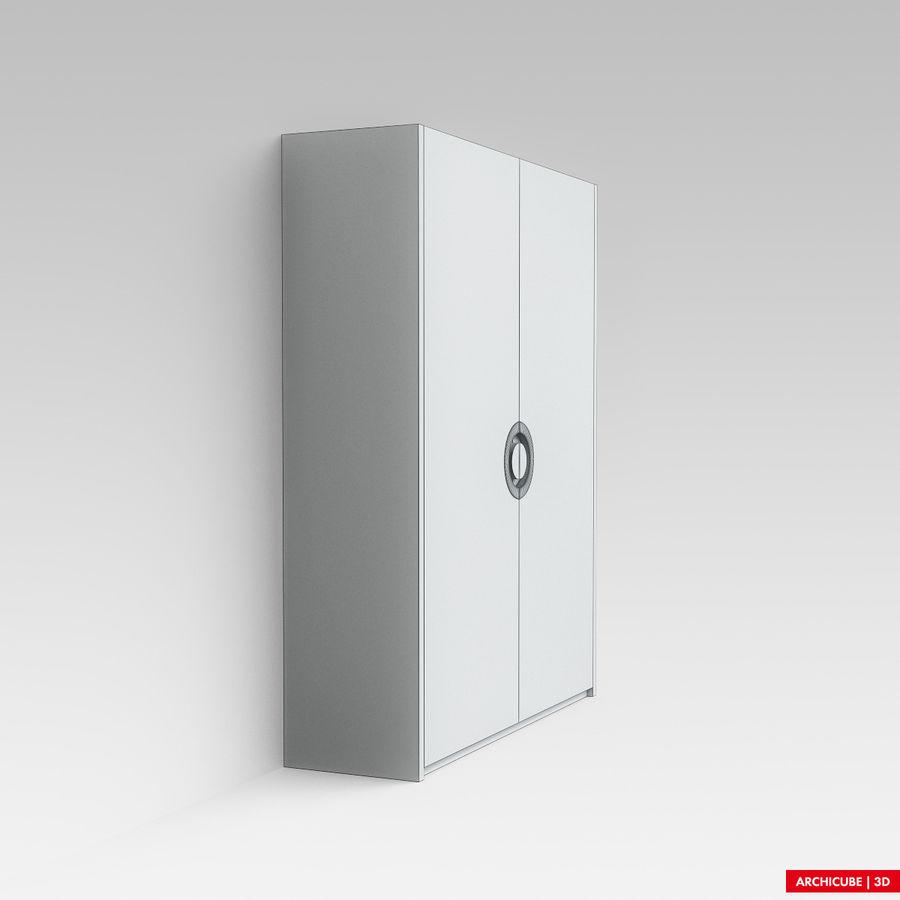 梳妆台 royalty-free 3d model - Preview no. 7