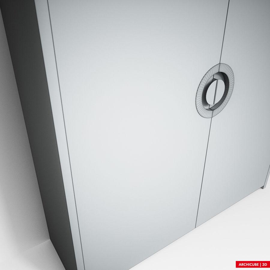 梳妆台 royalty-free 3d model - Preview no. 10